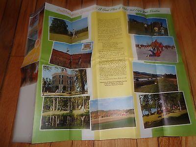 Vintage Brochure Jefferson County Wisconsin Watertown Lake Mills Fort Atkinson