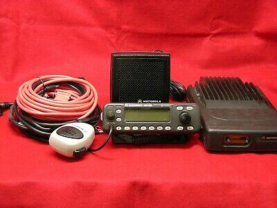 Motorola Mcs2000 Ii 110 Watt Vhf Radio 146-174 Mhz Model Mo1hx427w