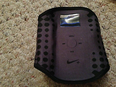 Nike+ Sport Armband Black with Window for 1st + 2nd Generation Apple iPod NANO