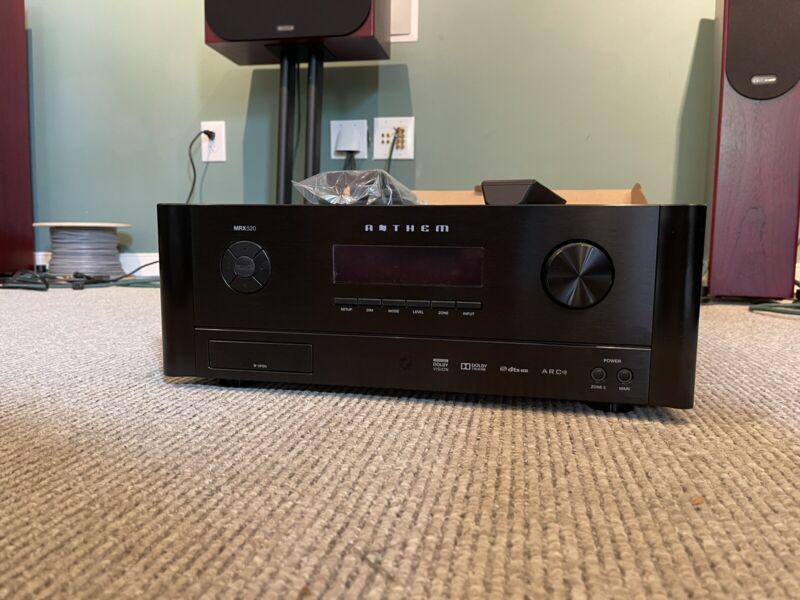Anthem MRX 520 A/V Receiver MRX520 Excellent Condition!