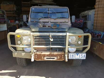 1988 Land Rover 110 PERENTIE Defender Army Camo Ute Truck