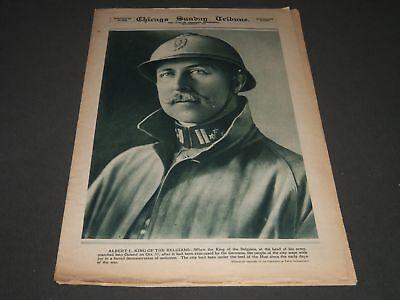 1918 November 3 Chicago Sunday Tribune Roto Section   King Alberti   Np 2577