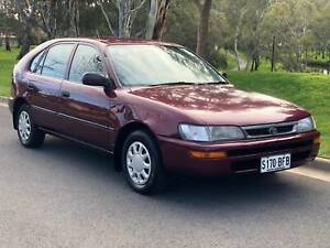 1998 Toyota Corolla Hatch Manual 253K KMS Cold Aircon Only $1550 Torrensville West Torrens Area Preview