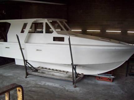 36' Launch - craftsman built Hartley design