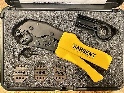 Sargent Tools Tk4150 Crimpers Crimping Tools Coax Kit