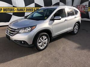 2012 Honda CR-V Touring, Navigation, Leather, Sunroof, AWD