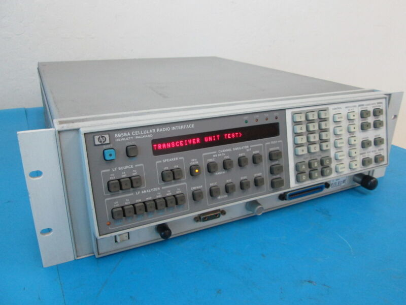 HP 8958A Cellular Radio Interface With OPT 003