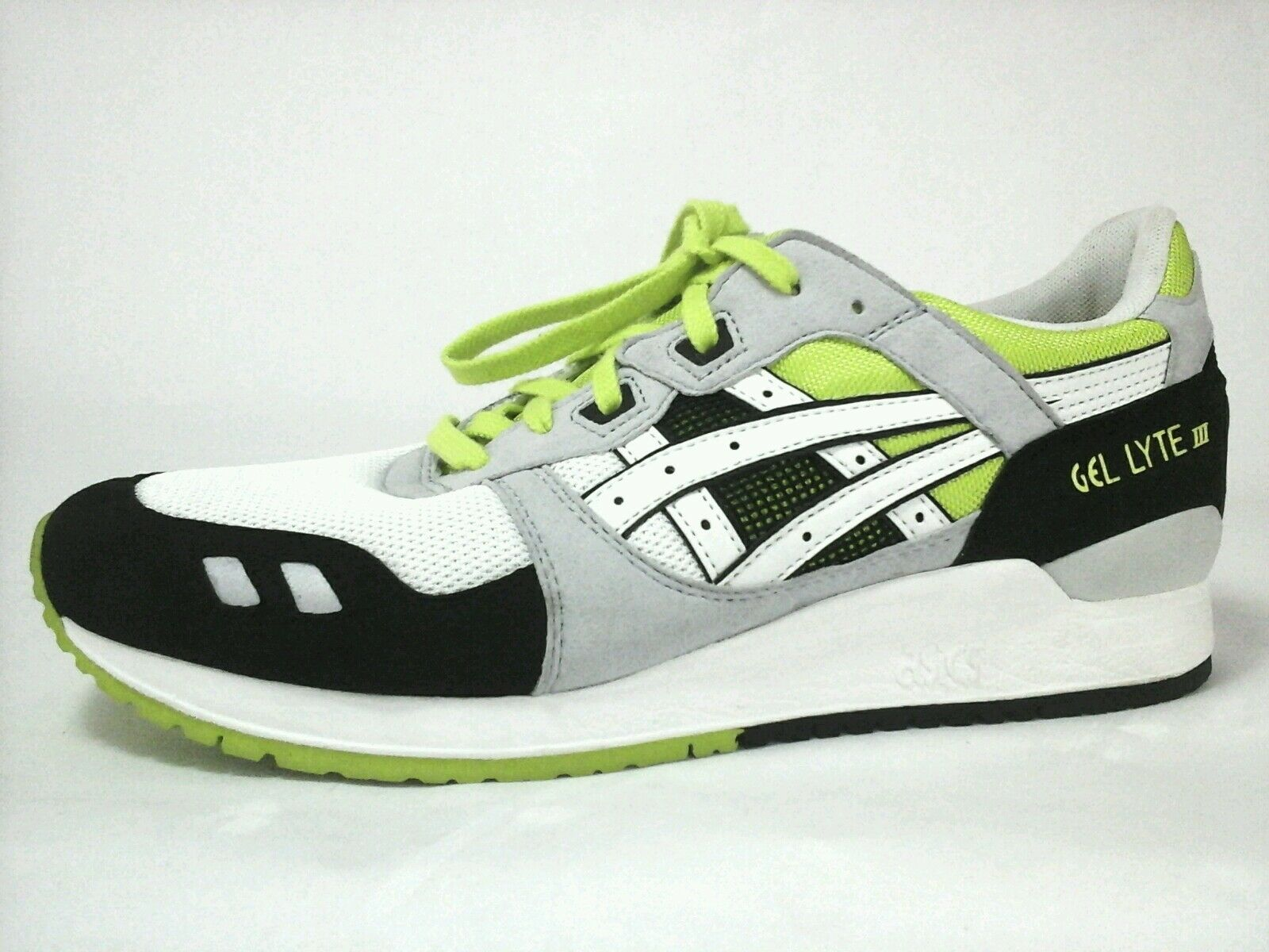 Details about Asics Gel Lyte III 3 Mens Shoes Sneakers Running Yoga Gym H307N US 11 EU 44 New