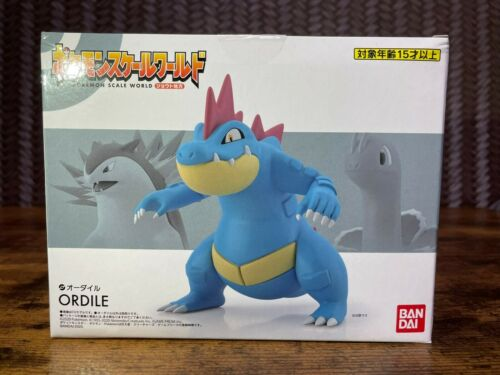 Pokemon Scale World Feraligatr ( Ordile ) Figure Johto region 1/20 BANDAI JAPAN