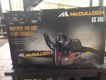 McCulloch CS360 Chainsaw - New in box