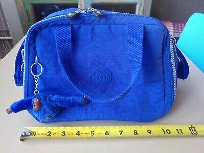 Kipling AC8108 *MIYO* Blue Lunch Bag One Size  W/ Monkey