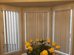 Blinds brand new living and dining room window coverings