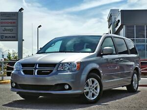 Dodge Grand Caravan Crew Plus 2017 CUIR/DVD/NAVI