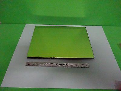 Large Optical Rectangular Mil Spec Mirror Laser Optics As Is Biny3-30