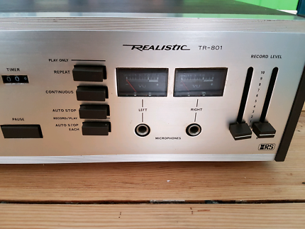 (Sold pending) Realistic 8 Track Cartridge Recorder/Player TR801