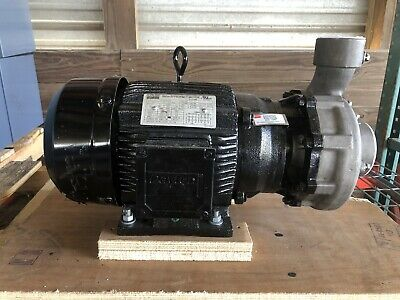 Dayton 12a063 Stainless Steel 3 Hp Centrifugal Pump 208-230460v New Open Box