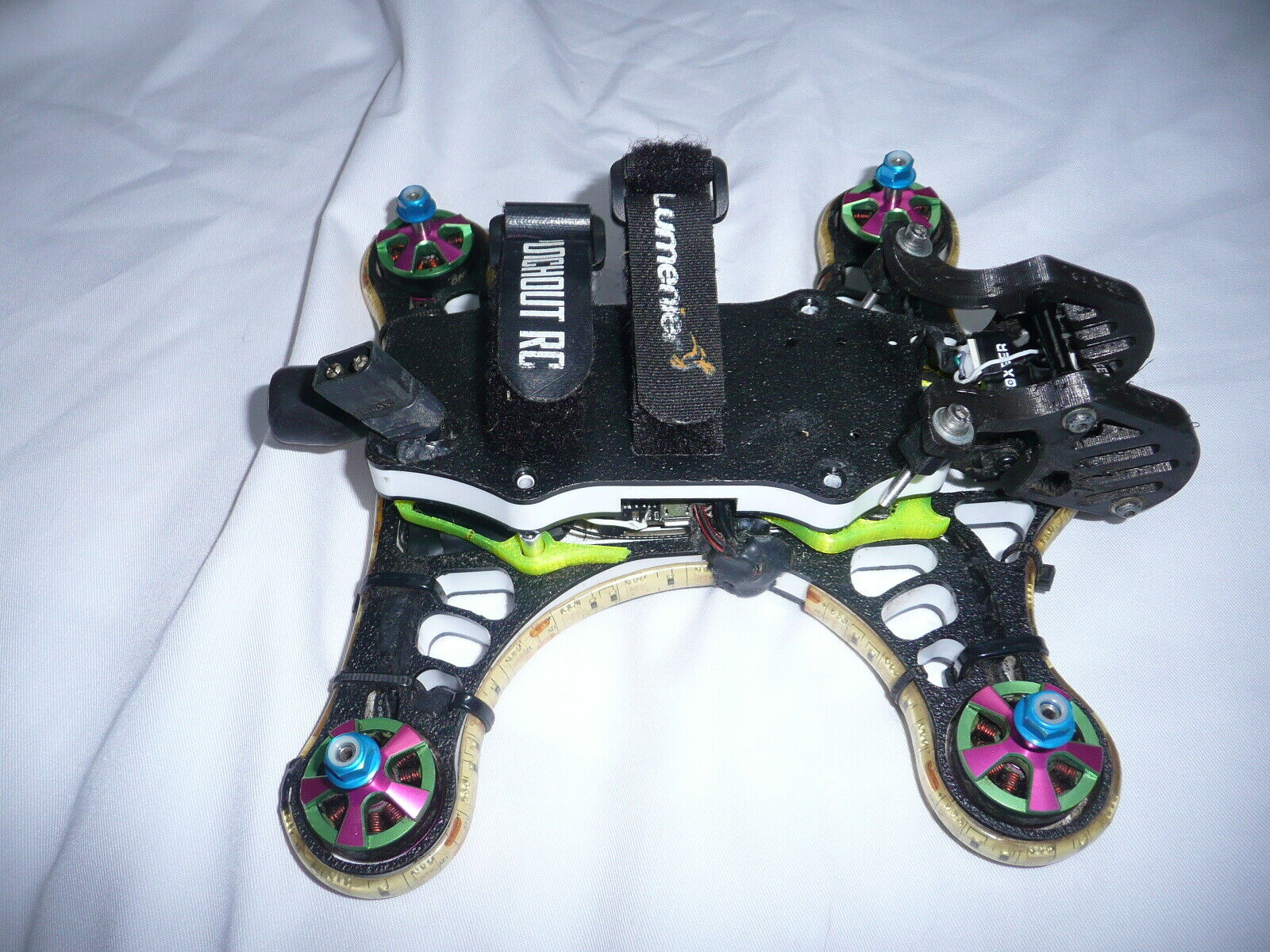 KISS FPV RACING DRONE WITH BROTHER HOBBY MOTORS AND TRAMP VTX