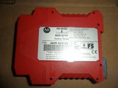 Allen Bradley Safety Relay 440r-n23132 New No Box
