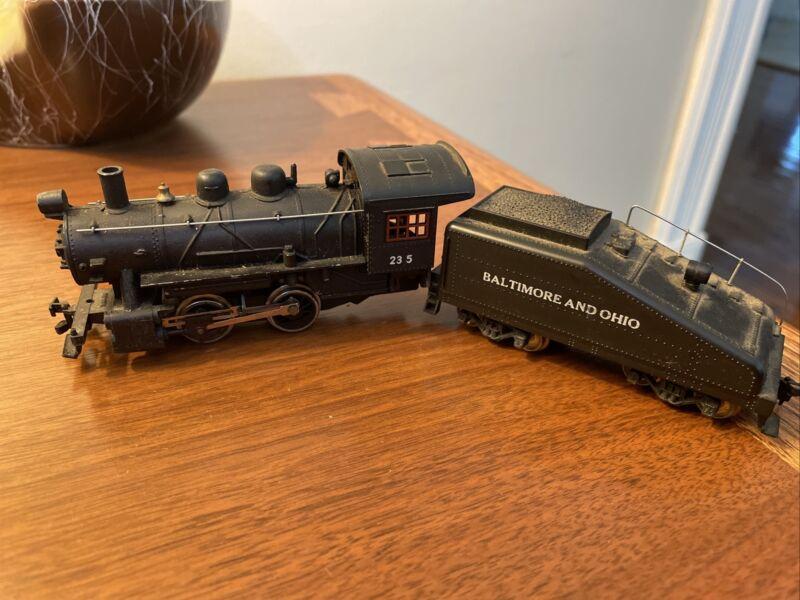 Mantua Union Pacific #235 Steam Locomotive & Tender HO Scale Model Train Car