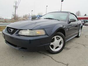 2002 Ford Mustang V6 3.8L **DECAPOTABLE** A/C CRUISE MAGS!!!