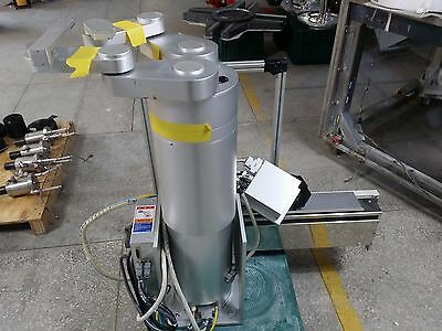 Rorze Rr701l1521-3a3-111-2 Robot With Controller Track Used
