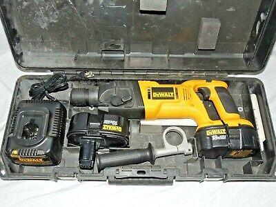 Dewalt Dw999k2 18 Volt Sds Reversible Hammer Drill Kit 2 Batteries Case