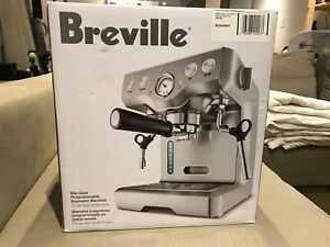 Breviary Coffee Maker (with milk frothing function) BES830REF