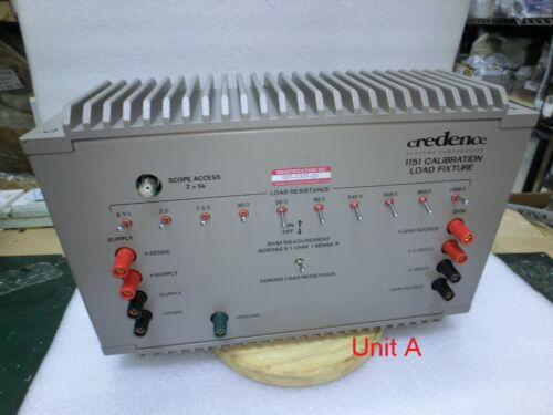 Credence 1151 Calibration Load Fixture,067-1307-10,Used,USA$95291