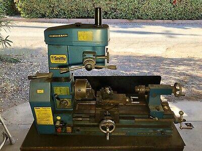 Smithy Combination Lathe Mill Drill Machine W Accessories