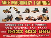 ABLE MACHINERY TRAINING TICKETS FROM $560.00 Dicky Beach Caloundra Area Preview