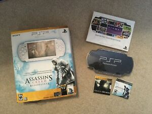 PlayStation Portable with games