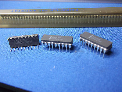 Qty-1 D2148h Intel D2148 18-pin Cerdip Sram Rare Vintage 1982 Collectible