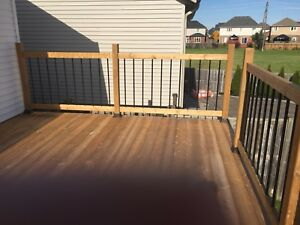 Deck and railing materials