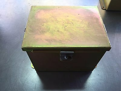 Hoffman 8 X 6 X 6 Electrical Enclosure 8x6x6 Metal Electrical Connection Box