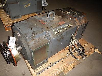 200 Hp Dc Reliance Electric Motor 1200 Rpm C4011atz Frame Dpfv 500 V