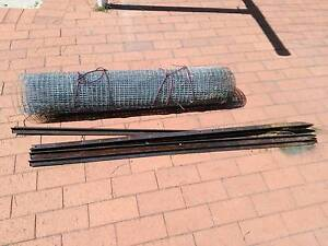 Steel Mesh and Steel Garden Posts Stakes Chicken Wire Fence Guildford Swan Area Preview