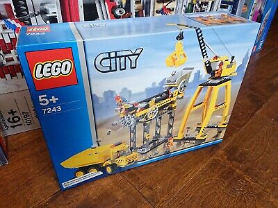 Lego Town City Set 7243 Construction Site New Complete -
