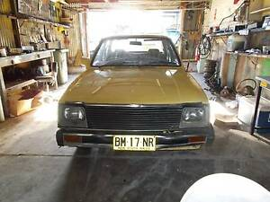 1980 Holden Gemini Sedan 5 speed MANUAL/ORGINAL CAR!!! Croydon Burwood Area Preview