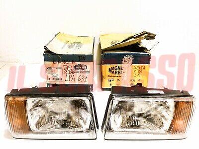 Groups Optical Right Left Lights Lights Indicators Lancia Delta Restyling Orange