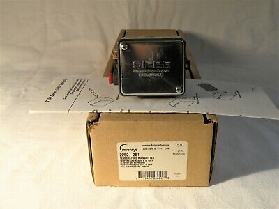 1  New-in-box Invensys Siebe  2252-251 Temperature Transmitter