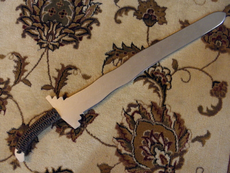 CUSTOM FILIPINO SUNDANG TRAINING SWORD