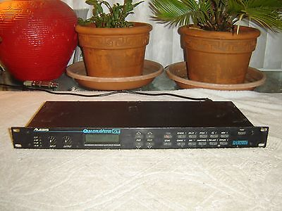 alesis quadraverb gt guitar effects processor preamp vintage rack ebay. Black Bedroom Furniture Sets. Home Design Ideas