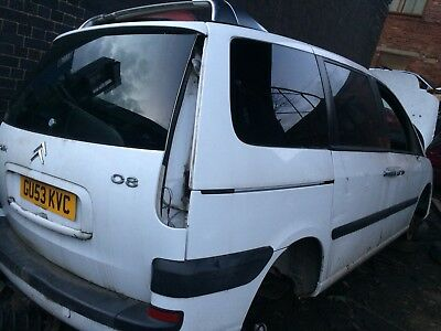 CITROEN C8 20 Petrol Breaking For Spare Parts White All Parts Available
