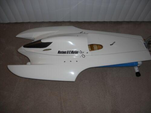 """RC Gas Boat ,Sport Hydro, AC Model Gas Sport Hydro Boat, AC Model The """"Edge"""" ***"""
