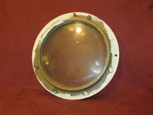 Antique Brass Ships Porthole Nautical