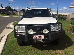 100 series landcruiser 8 seater Yamanto Ipswich City Preview