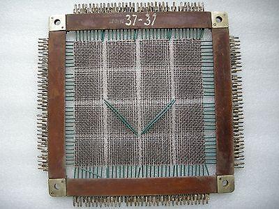 BIG USSR Soviet Magnetic Ferrite Core Memory plate 1960-s BESM-4 Mainframe RARE!