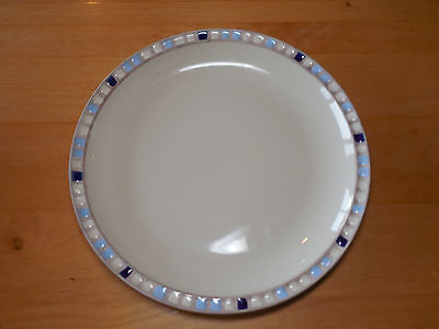 Dansk Studio COMPASS BLUE Dinner Plate 10 3/4 2 available Dansk Studio