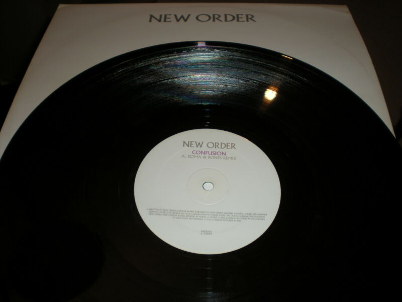 New Order Confusion Koma & Bones mix VINYL Crystal Lee Combs mix