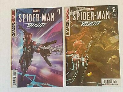 Spider-Man Velocity Lot: 1 & 2 Skan Cover Marvel 2019